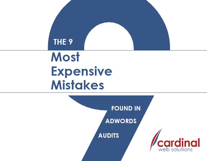 9 AdWords Mistakes