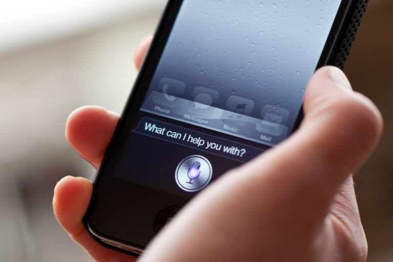 Performing Voice Search on Siri