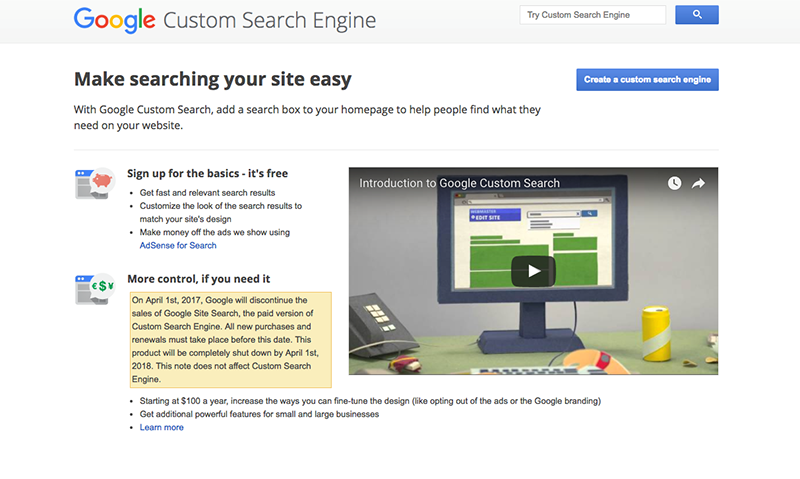 Google Site Search is Shutting Down  Here's What to do Next