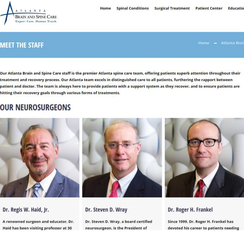 atlanta brain & spine doctors