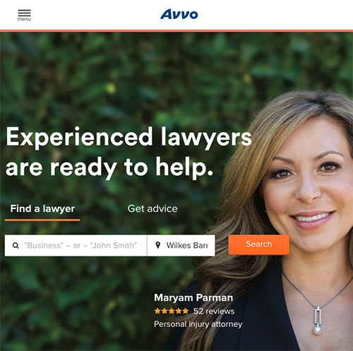 Ajax lawyers directory