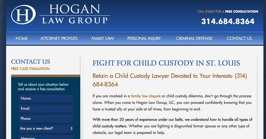 hogan law firm google search