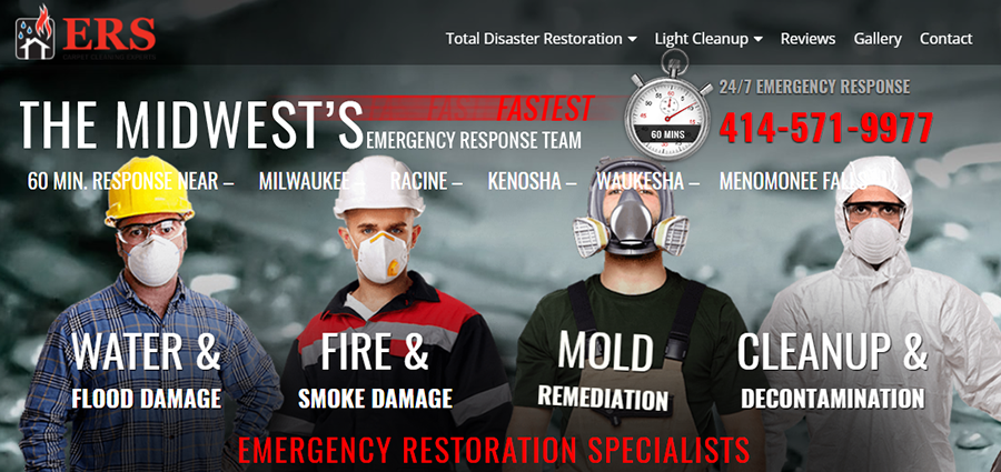 emergency restoration specialists ad