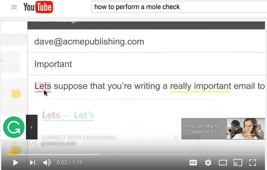 youtube autofill example