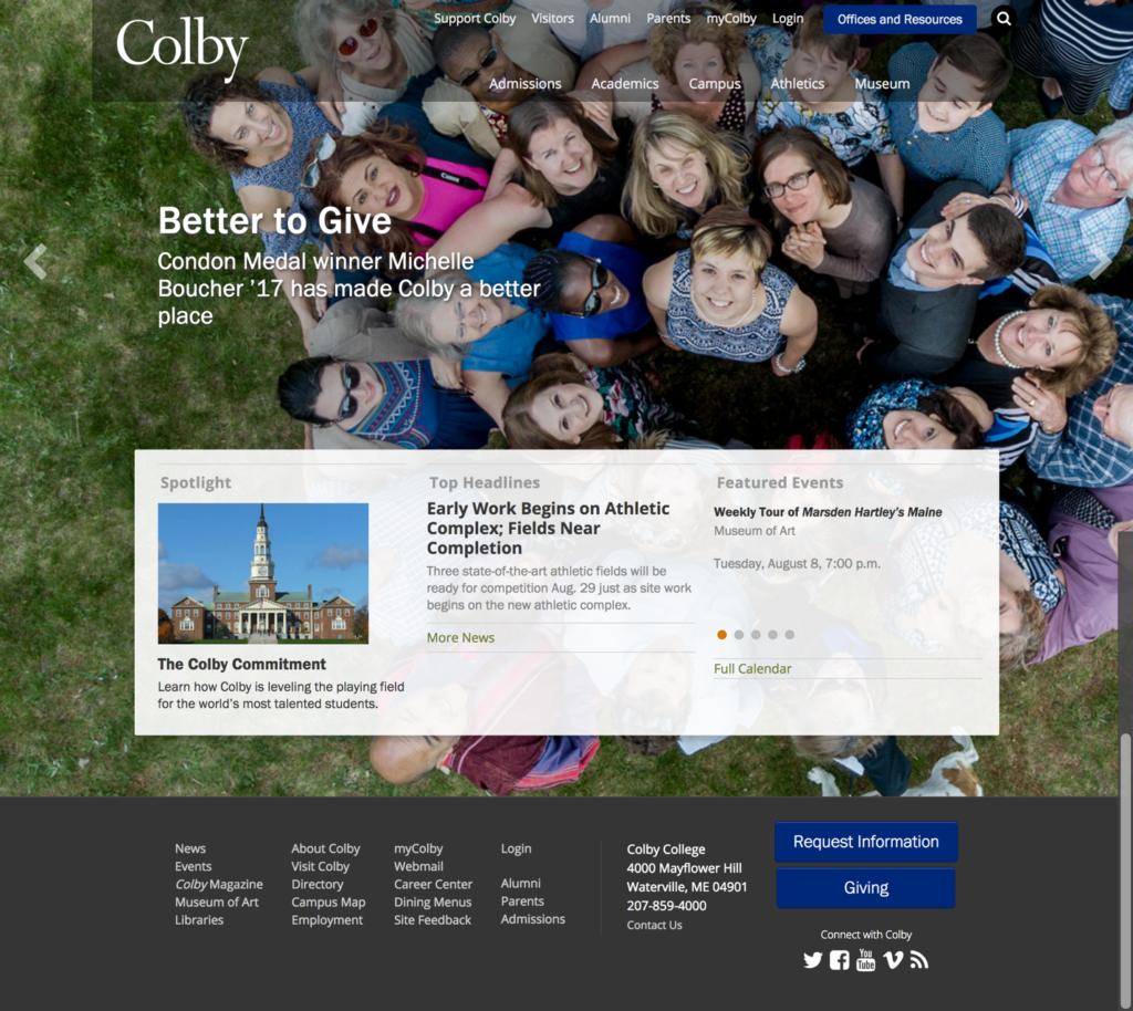University Content Marketing