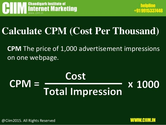 Cost Per Thousand Impression (CPM) Bidding is very useful for you to increase brand awareness
