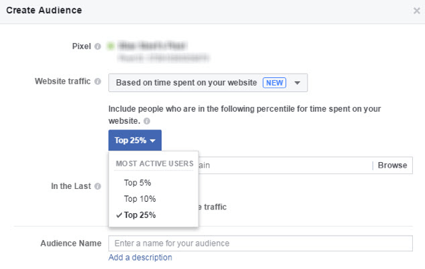 Limit your remarketin gcampaign to visitors that spend more time on your website or specific page