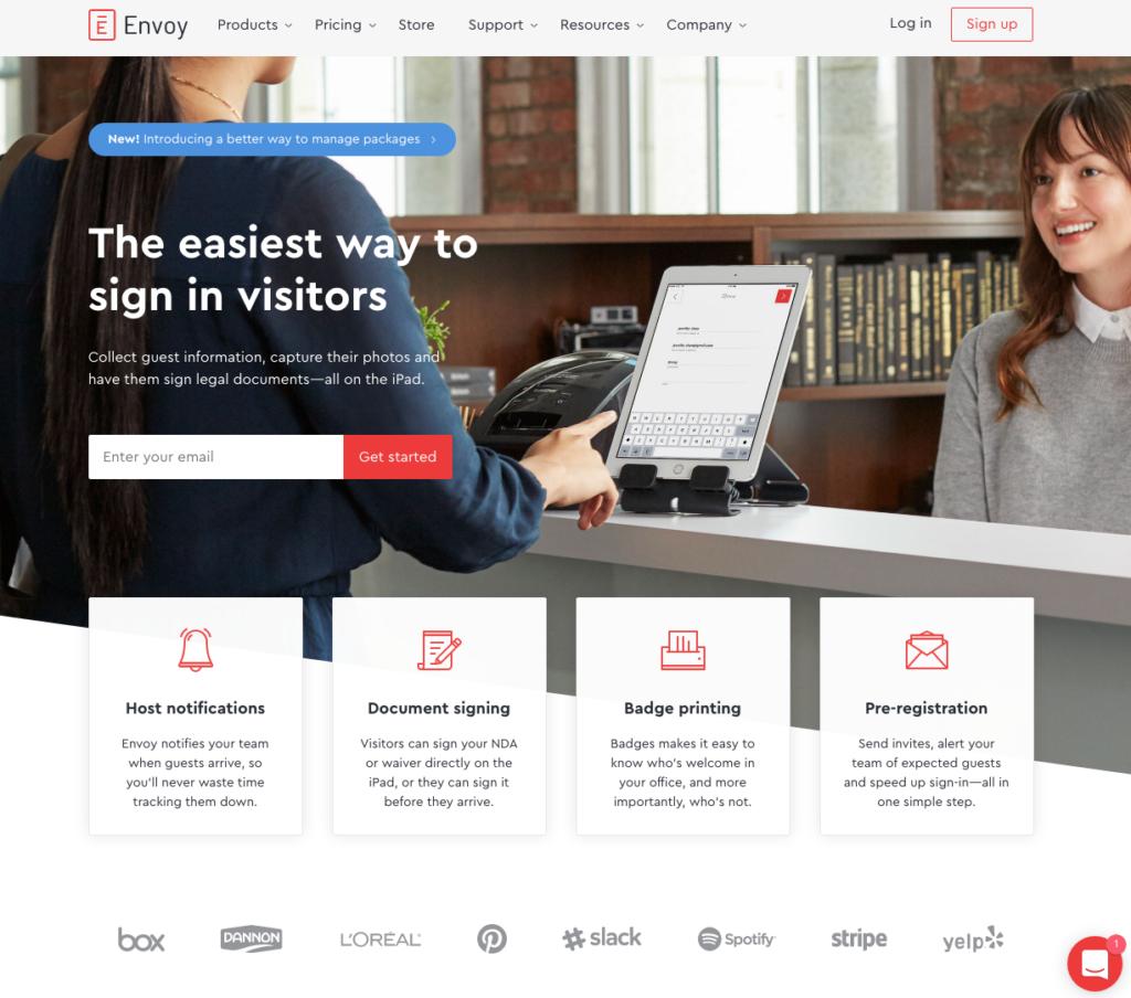 Envoy Website