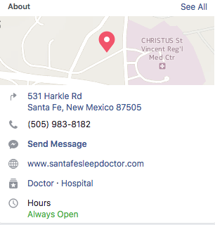 Though one facebook page allows only one physical address, you can still address to clients in multiple locations