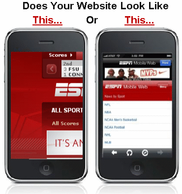Make sure your website is responsive and easy accessed through mobile devices