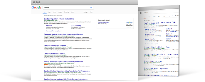 Ad Structure, using Google AdWords Extensions Combined