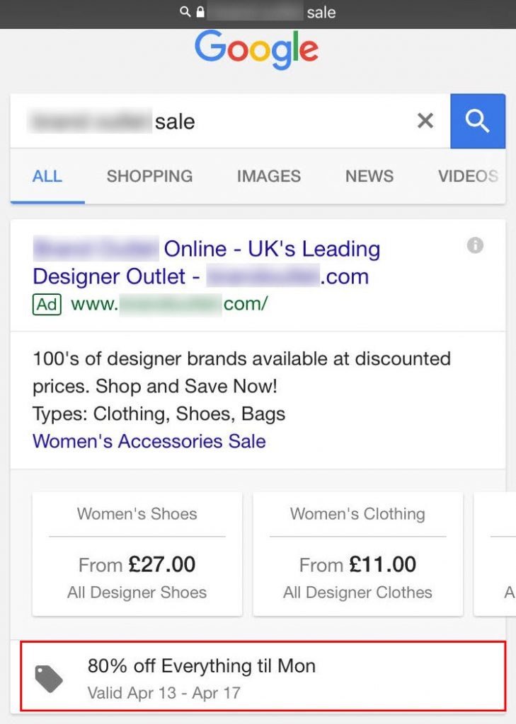 Combining Extensions for best results in Google AdWords Campaign