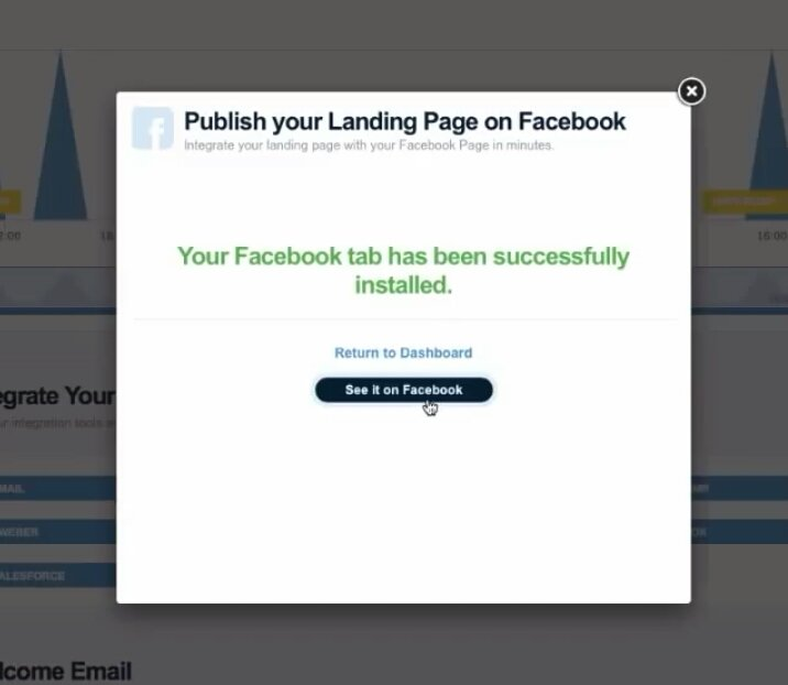 Confirm Landing Page