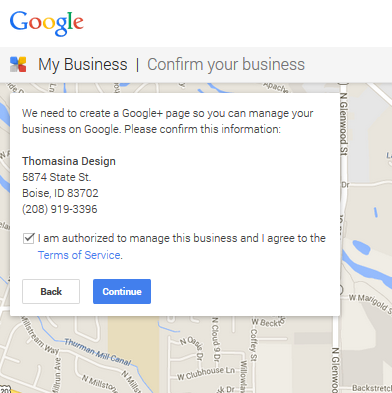 Google Plus Page for your Local Business