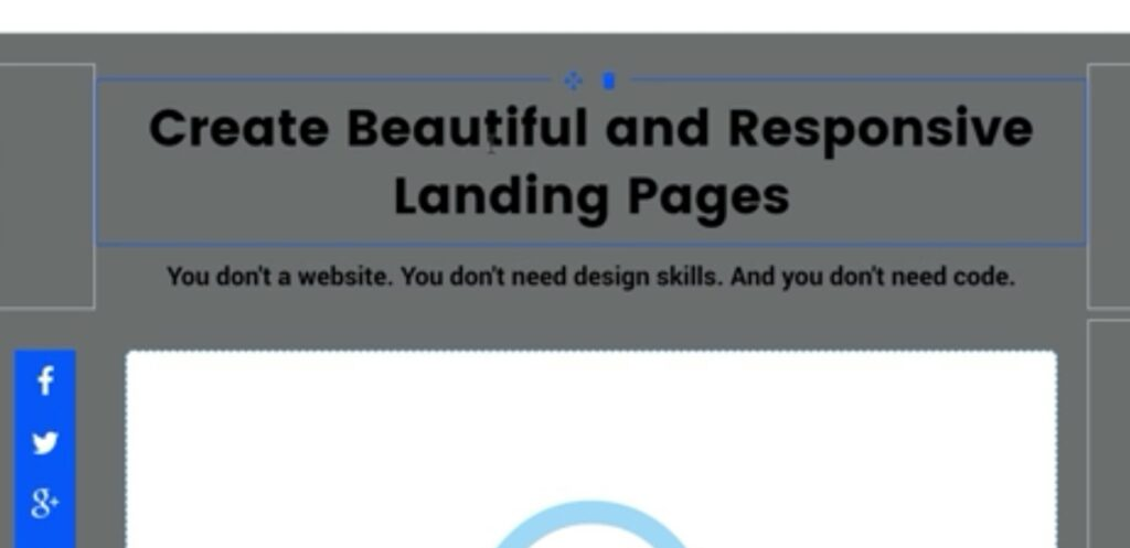 Select colors, styles, fonts for Leadpages Landing Page
