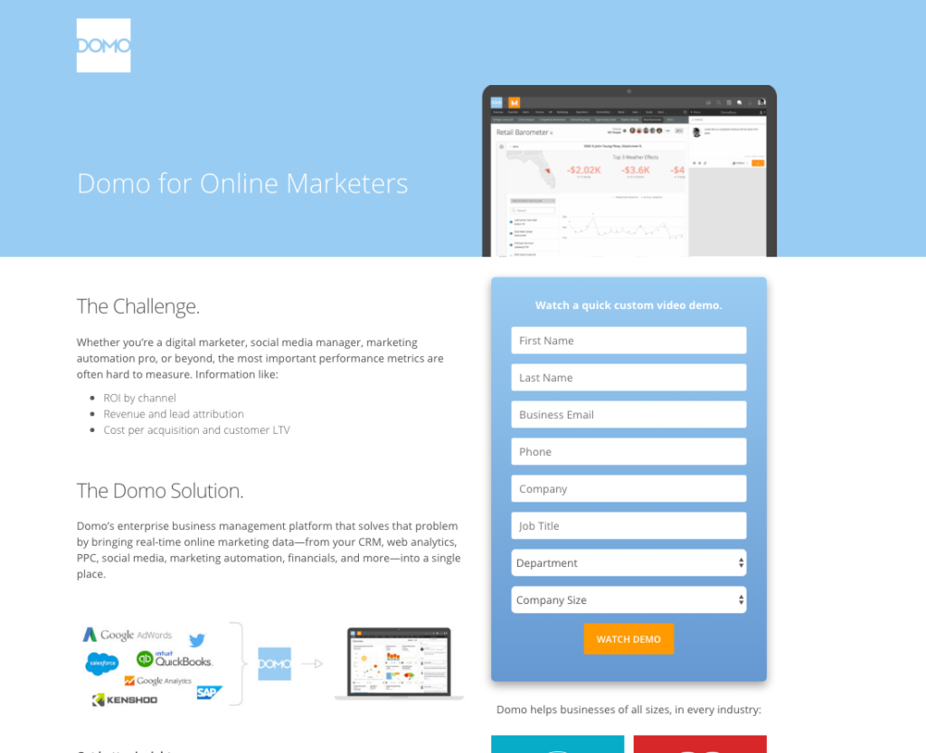 Optimized Landing page will increase conversion rate of your campaign