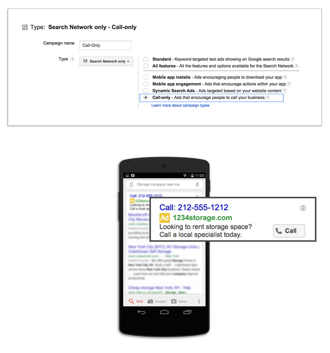 Set Up Google Call Only Campaign