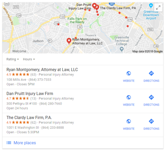 Ryan Montgomery Local Business Search Results