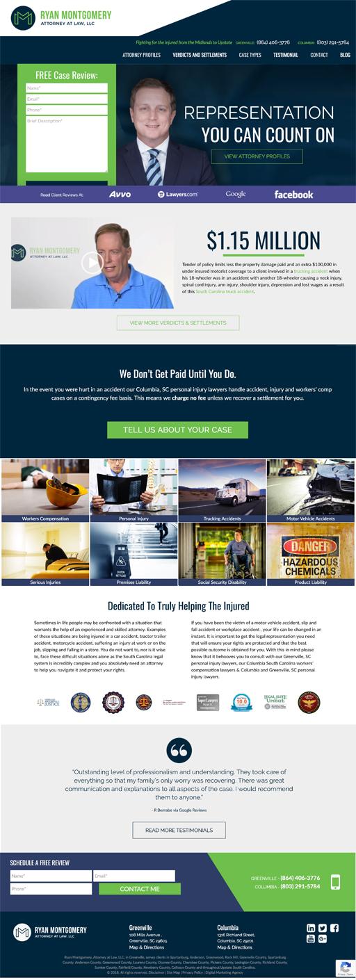 Ryan Montgomery Homepage