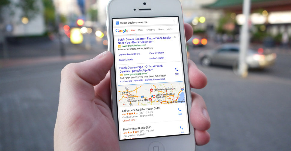 "Create ""Near me"" campaign with your google ads"