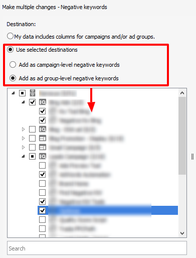 Adding Campaigns Manually