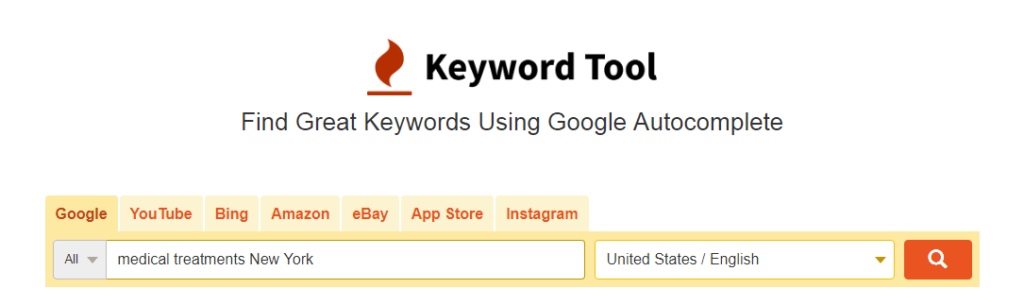 Using Google Keyword Tool for keyword research