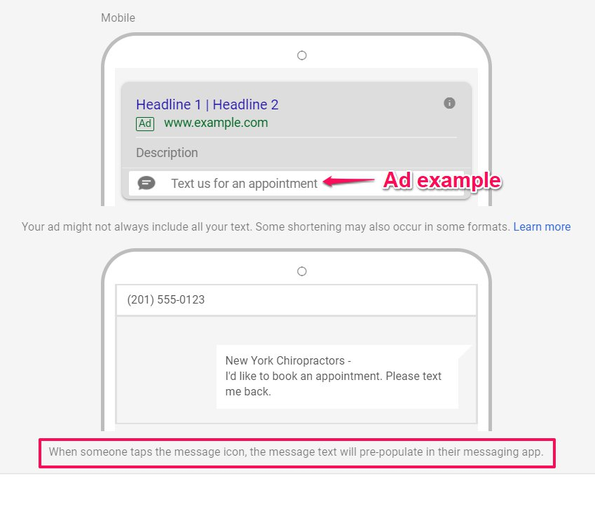 Send Message Preview by Google