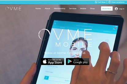 Website Tablet Screenshot