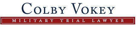 Colby Vokey Military Law Attorney
