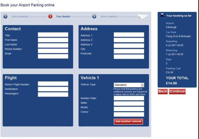 Landing Page Split Testing