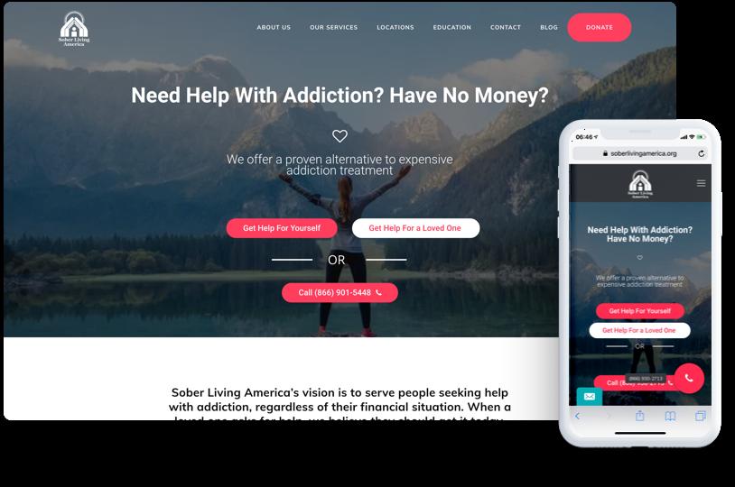 Sober Living America, Addiction Programs