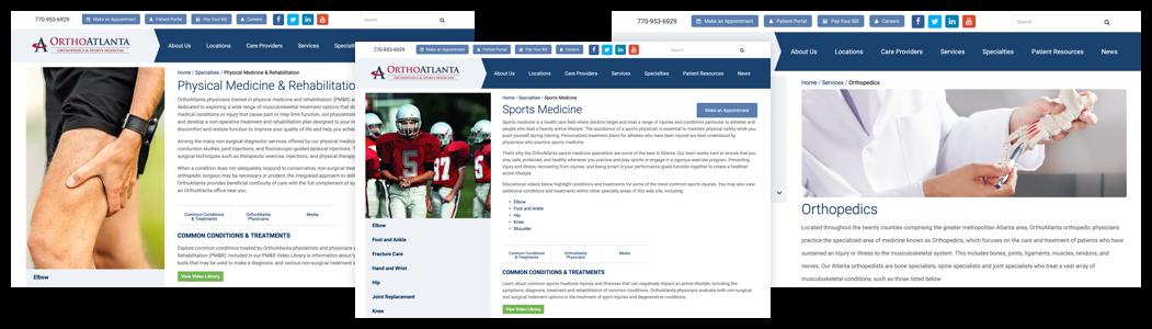 OrthoAtlanta Digital Marketing Campaign Results