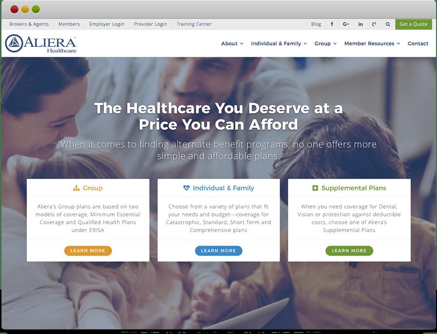 Aliera Website