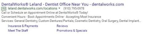 DentalWorks Ad