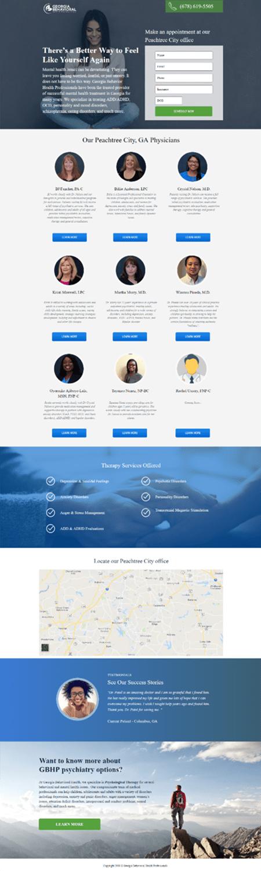 Georgia Behavioral Website