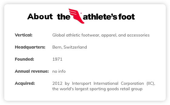 About the Athletes Foot