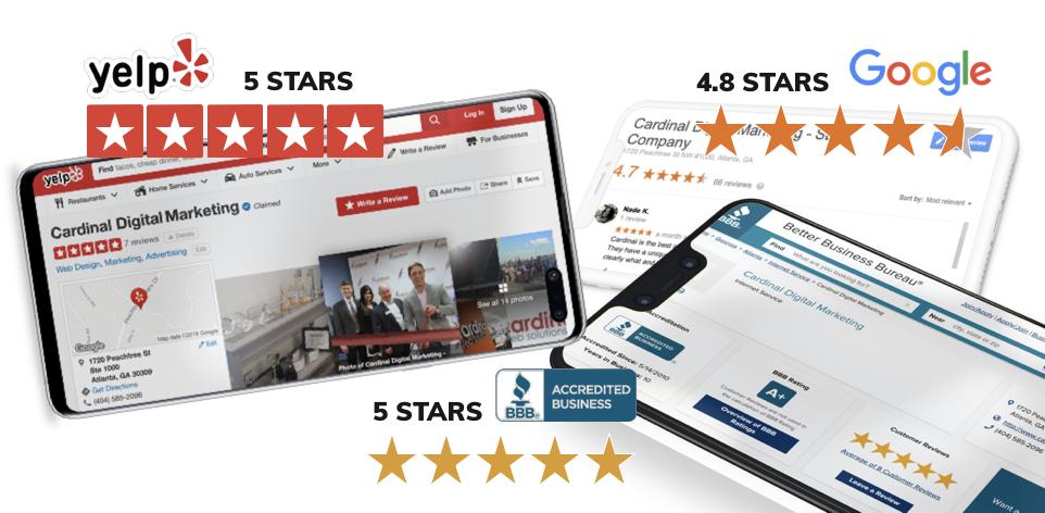 Cardinal Digital Marketing, Ratings and Reviews