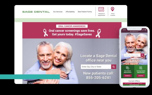 Dentist Web Design Data