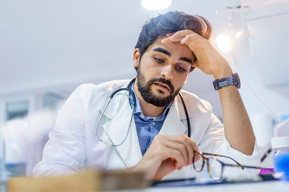 doctors are stressed out from poorly implemented EHR systems