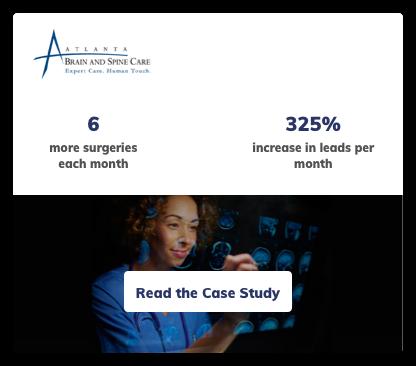 Neurosurgery Digital Marketing Case Study