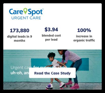 Carespot Digital Marketing Case Study