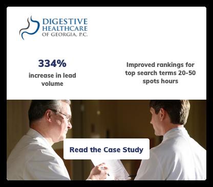 Digestive Healthcare Digital Marketing Case Study