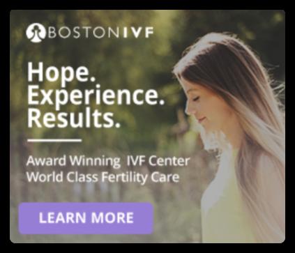 Boston Fertility Treatment Remarketing Ad