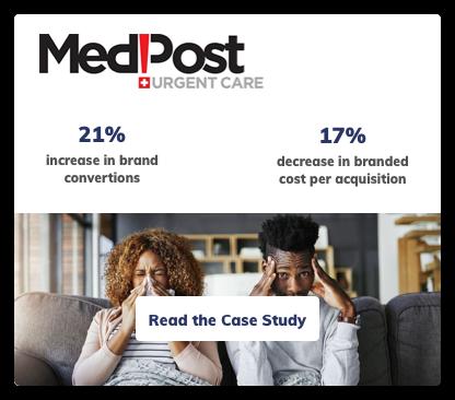 Medpost Urgent Care Digital Marketing Case Study