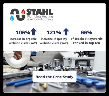 Plumbing Company Digital Marketing Case Study