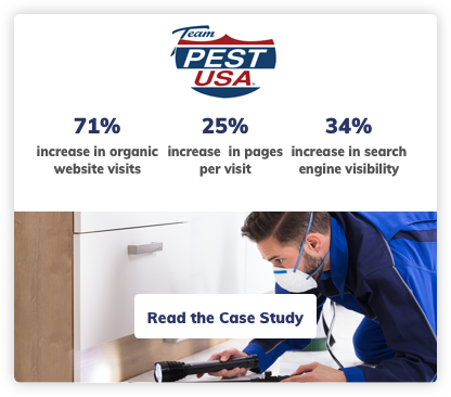 Pest Digital Marketing Case Study