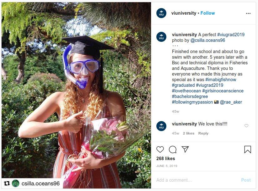 inspiring social media campaign for higher education marketing