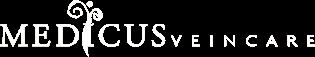 Medicus Vein Clinic White Logo