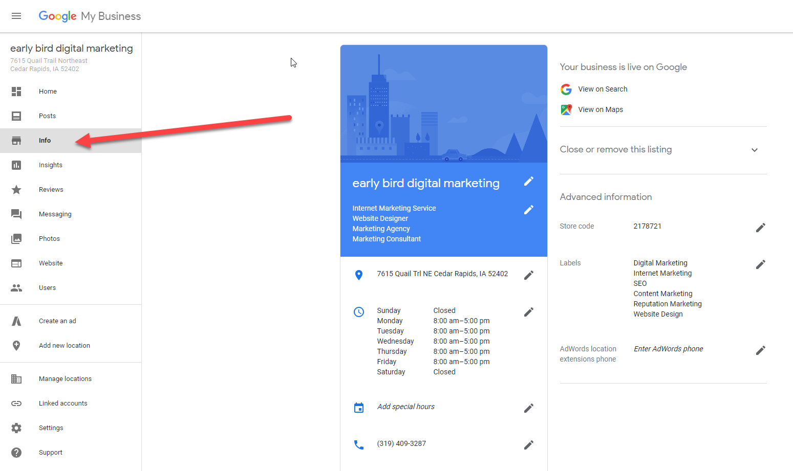 How to Optimize Google My Business Listing
