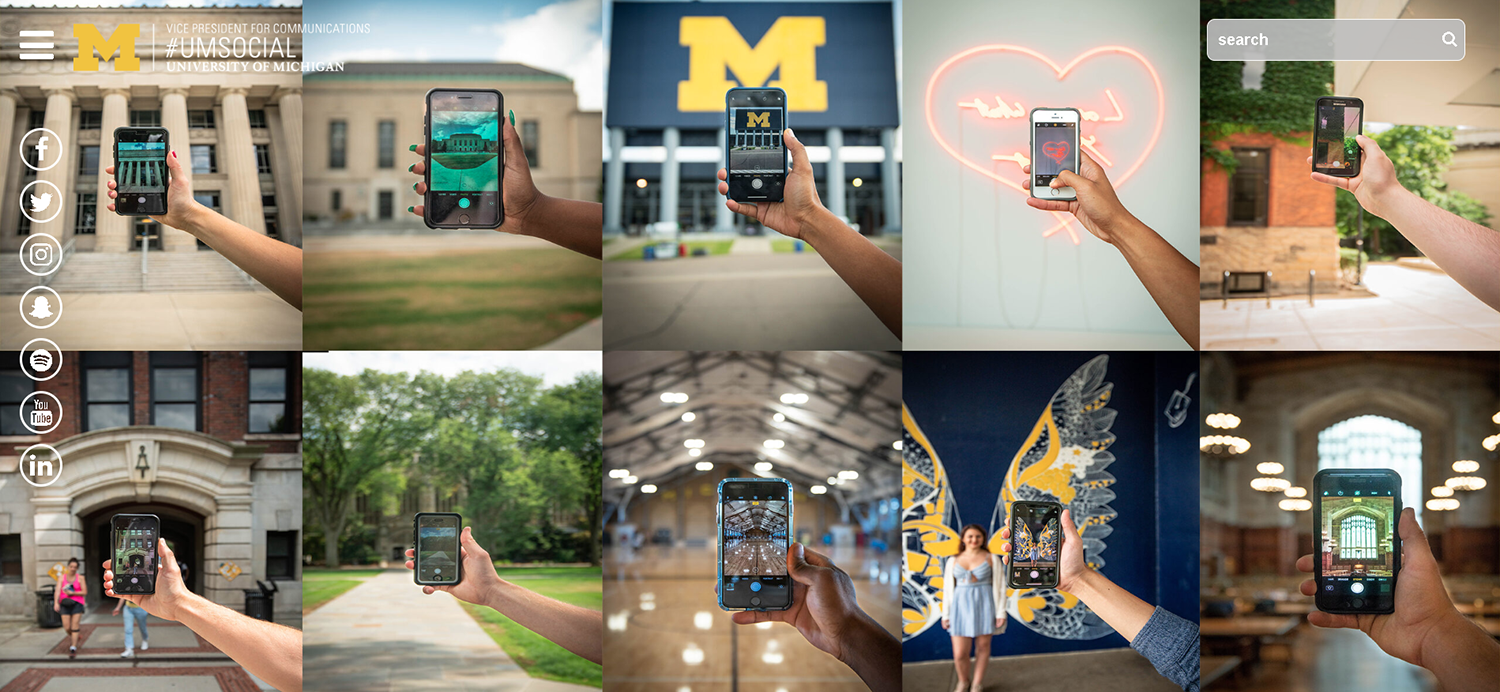example of effective higher education social media marketing
